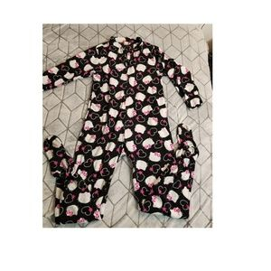 Hello Kitty Sanrio One Piece Pajamas Sleepwear